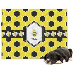 Honeycomb Dog Blanket (Personalized)
