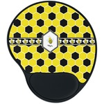 Honeycomb Mouse Pad with Wrist Support