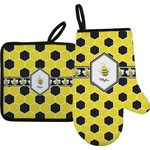 Honeycomb Oven Mitt & Pot Holder (Personalized)