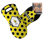 Honeycomb Neoprene Oven Mitt (Personalized)