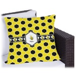 Honeycomb Outdoor Pillow (Personalized)