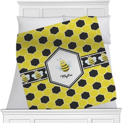 Honeycomb Minky Blanket (Personalized)