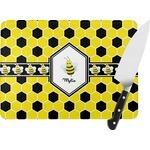 Honeycomb Rectangular Glass Cutting Board (Personalized)
