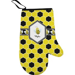 Honeycomb Right Oven Mitt (Personalized)