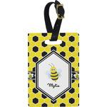 Honeycomb Rectangular Luggage Tag (Personalized)