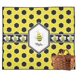 Honeycomb Outdoor Picnic Blanket (Personalized)