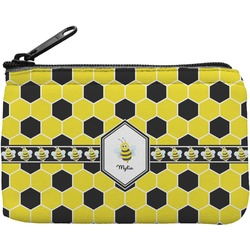 Honeycomb Rectangular Coin Purse (Personalized)