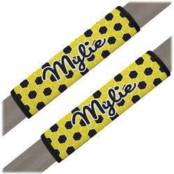 Honeycomb Seat Belt Covers (Set of 2) (Personalized)