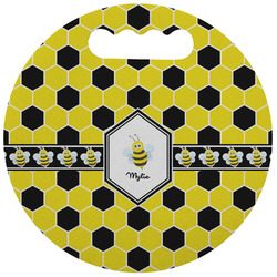 Honeycomb Stadium Cushion (Round) (Personalized)