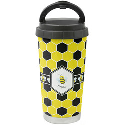 Honeycomb Stainless Steel Coffee Tumbler (Personalized)