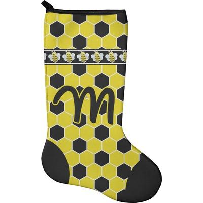 Honeycomb Holiday Stocking - Neoprene (Personalized)