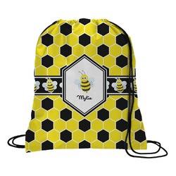 Honeycomb Drawstring Backpack (Personalized)