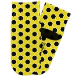 Honeycomb Toddler Ankle Socks (Personalized)