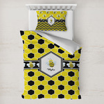 Honeycomb Toddler Bedding w/ Name or Text