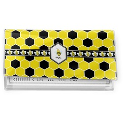 Honeycomb Vinyl Check Book Cover (Personalized)