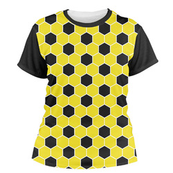 Honeycomb Women's Crew T-Shirt (Personalized)
