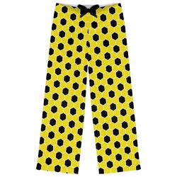 Honeycomb Womens Pajama Pants - XL (Personalized)