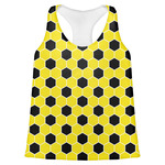 Honeycomb Womens Racerback Tank Top (Personalized)