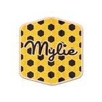 Honeycomb Genuine Maple or Cherry Wood Sticker (Personalized)