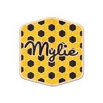 Honeycomb Genuine Wood Sticker (Personalized)