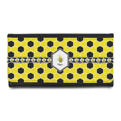 Honeycomb Leatherette Ladies Wallet (Personalized)