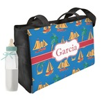 Boats & Palm Trees Diaper Bag w/ Name or Text