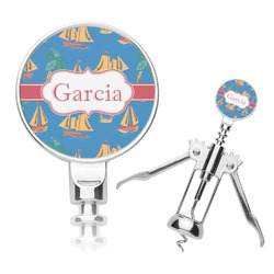 Boats & Palm Trees Corkscrew (Personalized)