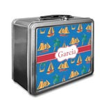 Boats & Palm Trees Lunch Box (Personalized)