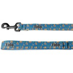 Boats & Palm Trees Deluxe Dog Leash (Personalized)