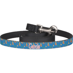 Boats & Palm Trees Dog Leash (Personalized)