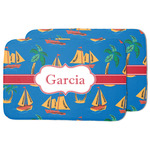 Boats & Palm Trees Dish Drying Mat (Personalized)