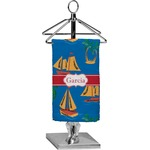 Boats & Palm Trees Finger Tip Towel - Full Print (Personalized)