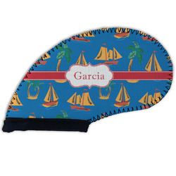 Boats & Palm Trees Golf Club Cover (Personalized)