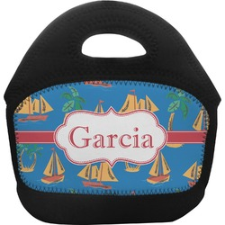Boats & Palm Trees Toddler Lunch Tote (Personalized)