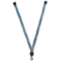 Boats & Palm Trees Lanyard (Personalized)