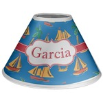 Boats & Palm Trees Coolie Lamp Shade (Personalized)