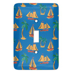 Boats & Palm Trees Light Switch Covers - Multiple Toggle Options Available (Personalized)