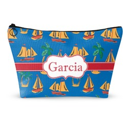 Boats & Palm Trees Makeup Bags (Personalized)