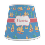Boats & Palm Trees Empire Lamp Shade (Personalized)