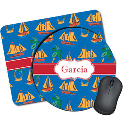 Boats & Palm Trees Mouse Pads (Personalized)
