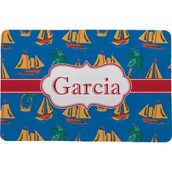 Boats & Palm Trees Comfort Mat (Personalized)