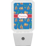Boats & Palm Trees Night Light (Personalized)
