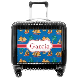 Boats & Palm Trees Pilot / Flight Suitcase (Personalized)