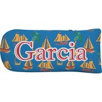Boats & Palm Trees Putter Cover (Personalized)