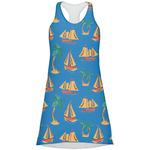 Boats & Palm Trees Racerback Dress (Personalized)