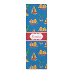 Boats & Palm Trees Runner Rug - 3.66'x8' (Personalized)