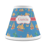 Boats & Palm Trees Chandelier Lamp Shade (Personalized)
