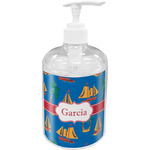 Boats & Palm Trees Soap / Lotion Dispenser (Personalized)