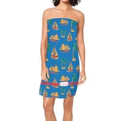 Boats & Palm Trees Spa / Bath Wrap (Personalized)