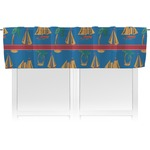 Boats & Palm Trees Valance (Personalized)